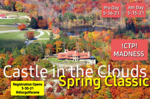 Castle in the Clouds Spring Classic PRO SIDE - powered by Innova graphic