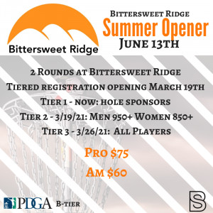 Bittersweet Ridge Summer Opener graphic