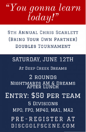 5th Annual Chris Scarlett (Bring Your Own Partner) graphic