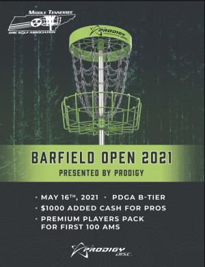 Barfield Open Presented By Prodigy graphic