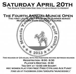 4th Annual Muncie open graphic