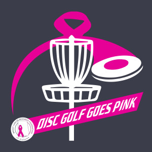 Disc Golf Goes Pink graphic