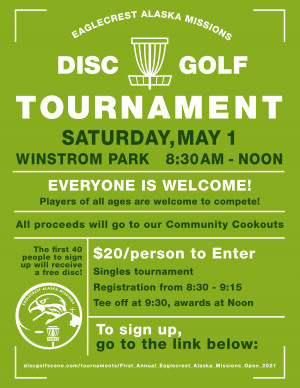First Annual Eaglecrest Alaska Missions Open graphic