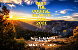 May The Course Be With You 2021 graphic