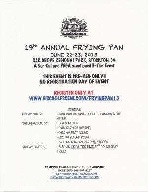 19th Annual Frying Pan graphic