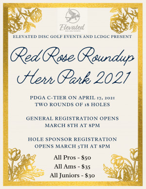 Red Rose Roundup - Herr Park 2021 graphic