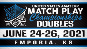 United States Amateur Match Play Doubles Championships presented by Dynamic Discs graphic