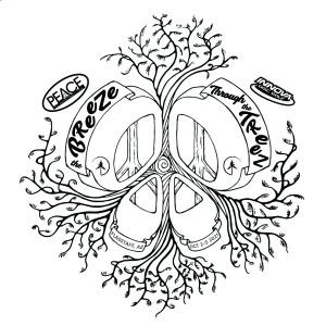 Peace Surplus Breeze Through the Treez Driven by Innova graphic