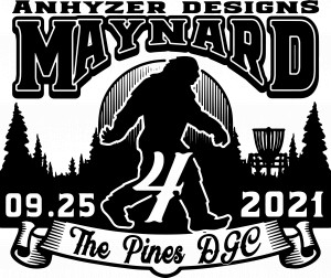 Maynard part 4 sponsored by Dynamic Discs graphic