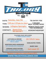 2021 Memphis Trilogy Challenge graphic