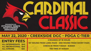 Dynamic Discs Northwest Arkansas Presents: The Cardinal Classic (All Intermediate and Recreational) graphic