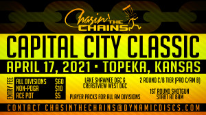 Dynamic Discs Presents The 2021 Capital City Classic graphic