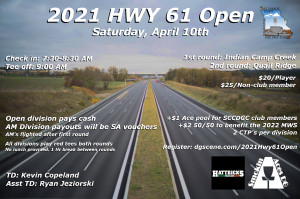 Hwy 61 Open graphic