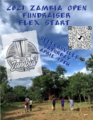 2021 Zambia Open Fundraiser Flex Start - Sellersville graphic