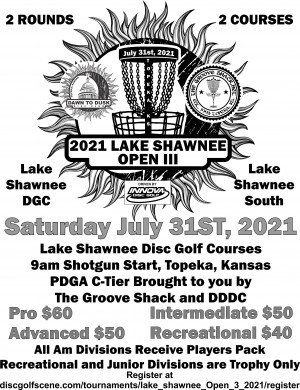 Lake Shawnee Open 3 graphic