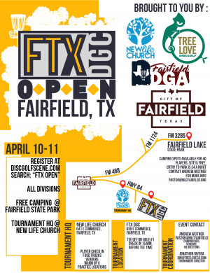 1st Annual FTX OPEN powered by Innova Discs graphic