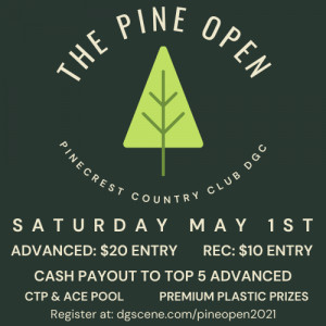 The Pine Open graphic