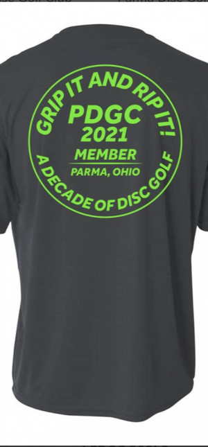 2021 PDGC Membership/ Bag Tag Challenge/ Disc Swap Fly Mart graphic