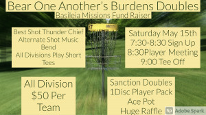 Bear One Another's Burdens Doubles graphic