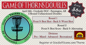 Game of Thorns Doubles graphic