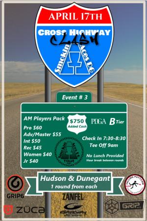 Smokin Aces DG presents Cross Highway Clash graphic