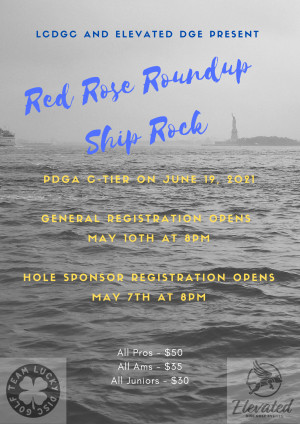 Red Rose Roundup - Ship Rock 2021 graphic