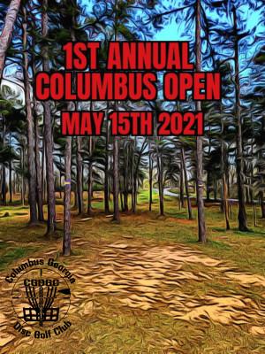 1st Annual Columbus Open graphic