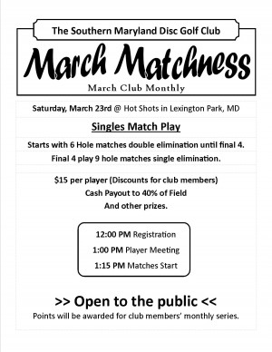 March Matchness graphic