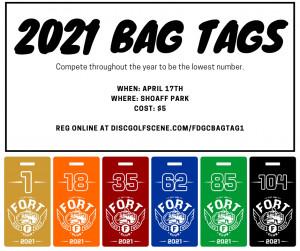 FDGC Bag Tag Kick Off graphic