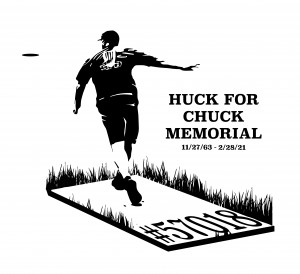 Huck for Chuck Memorial graphic