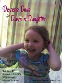Devens Dubs for Dave's Daughter graphic