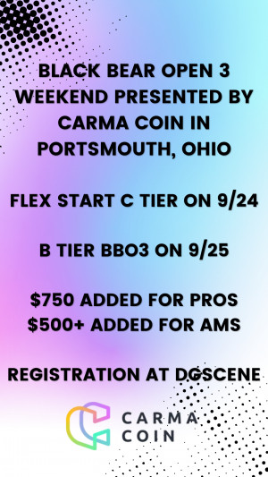 Black Bear Open 3 Presented by Carma Coin graphic