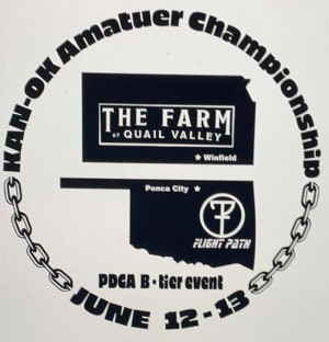 The Farm & Flight Path Present The 2021 KAN-OK Amateur Championship Sponsored by Dynamic Disc graphic