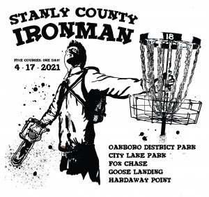 Stanly County Ironman graphic