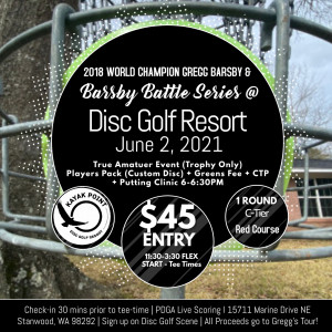 Barsby Battle Series: Flex @ Kayak Point Disc Golf Resort graphic