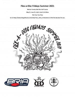 Flex-a-Disc Friday - 1 round - July - 2nd Edition - PYTT graphic