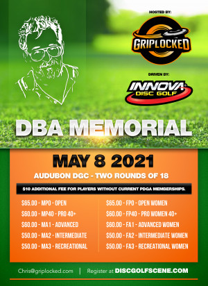 The DBA Memorial Hosted by Griplocked Driven by Innova graphic
