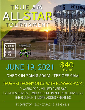 True Am All-Stars Tournament powered by Prodigy graphic
