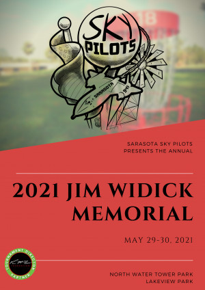 2021 Jim Widick Memorial sponsored by Dynamic Discs graphic
