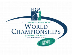 2021 PDGA Pro Masters Disc Golf World Championships graphic