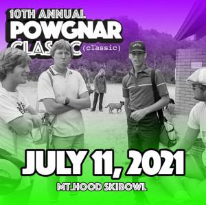 2021 Powgnar Classic at Mt. Hood Skibowl graphic