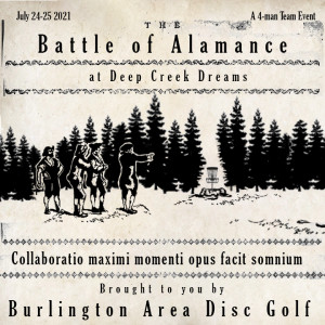 The Battle of Alamance graphic