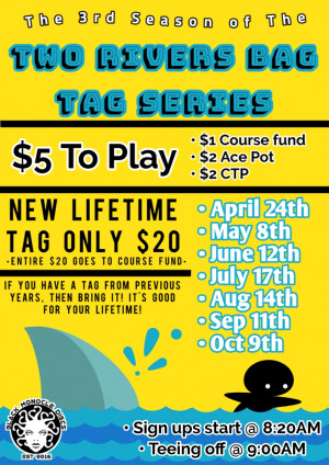 Two Rivers Bag Tag Series - Event #2 graphic