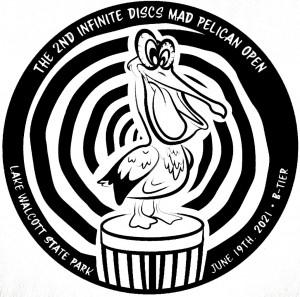 Infinite Discs 2nd Mad Pelican Open graphic