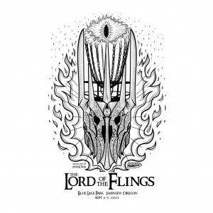 The Lord of the Flings presented by Innova Champion Discs graphic
