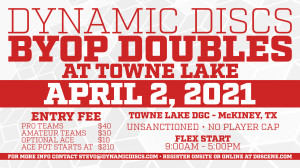 Dynamic Discs BYOP Doubles @ Lake Durant graphic