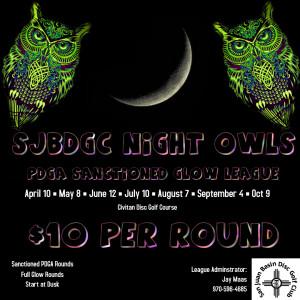 SJBDGC Night Owls - Round 1 - 04/10/2021 graphic