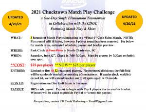 2021 Chucktown Match Play Challenge graphic