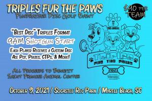 Triples Fur Paws 2021 graphic
