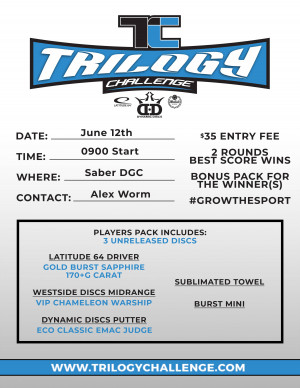 Saber Trilogy Challenge graphic